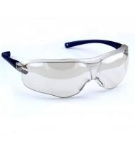 3M™ 10436 防護鏡 防霧防UV (反光透明鏡藍框)